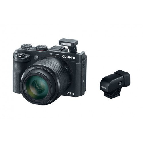 Canon PowerShot G3 X with Electronic Viewfinder EVF-DC1