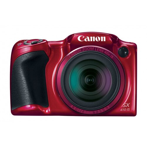 Canon PowerShot SX410 IS Digital Camera - Red