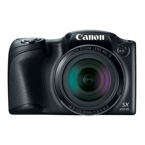 Canon PowerShot SX410 IS Digital Camera - Black