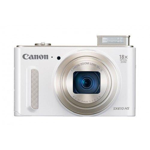 Canon PowerShot SX610 HS Digital Camera - White