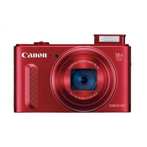 Canon PowerShot SX610 HS Digital Camera - Red