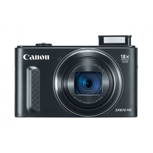 Canon PowerShot SX610 HS Digital Camera - Black