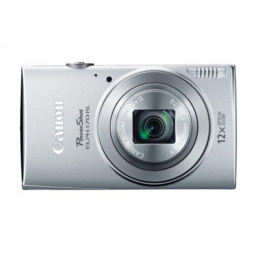 Canon PowerShot ELPH 170 IS Digital Camera - Silver