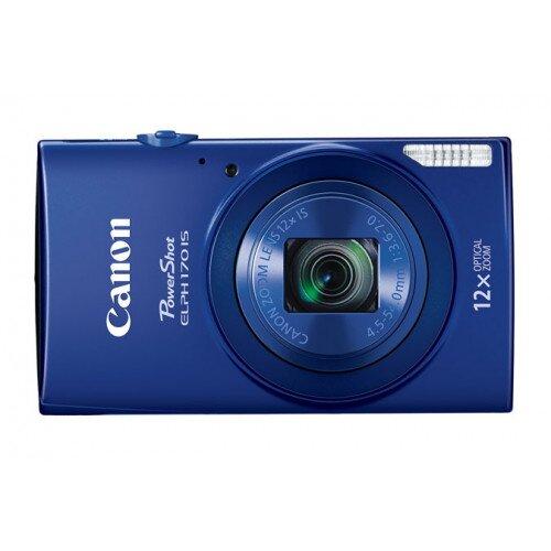 Canon PowerShot ELPH 170 IS Digital Camera - Blue