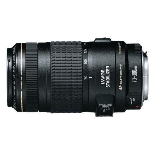 Canon EF 70-300mm Telephoto Zoom Lens - f/4-5.6 IS USM