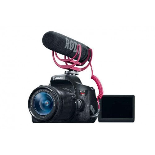 Canon EOS Rebel T6i Video Creator Kit 18-55mm IS STM Lens, Microphone & 32GB SDHC Card
