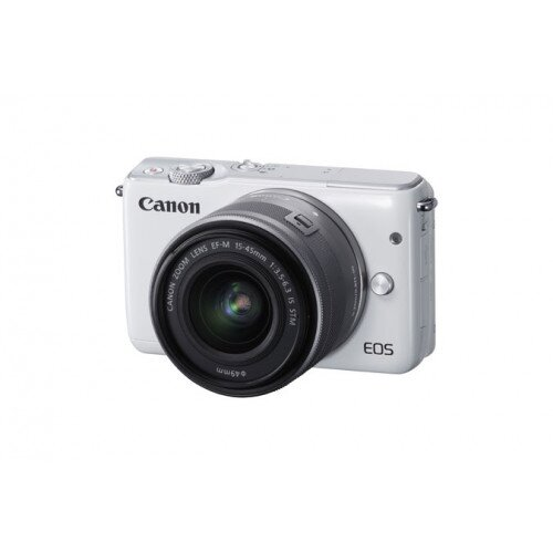 Canon EOS M10 EF-M 15-45mm f/3.5-6.3 IS STM Kit - White