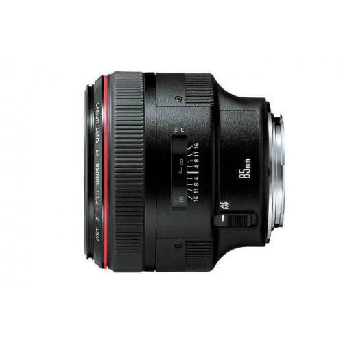 Canon EF 85mm Lens - f/1.2L II USM