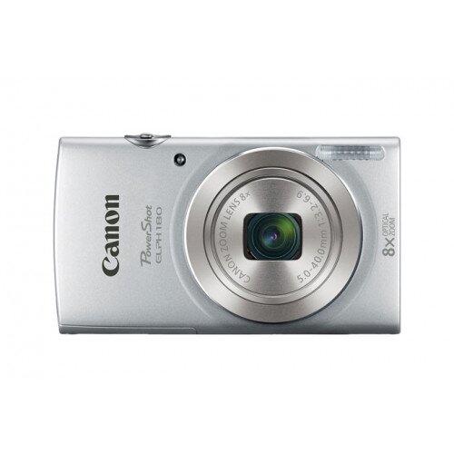 Canon PowerShot ELPH 180 Digital Camera - Silver