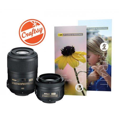 Nikon Macro & Portrait 2 Lens Kit Digital Camera Lens