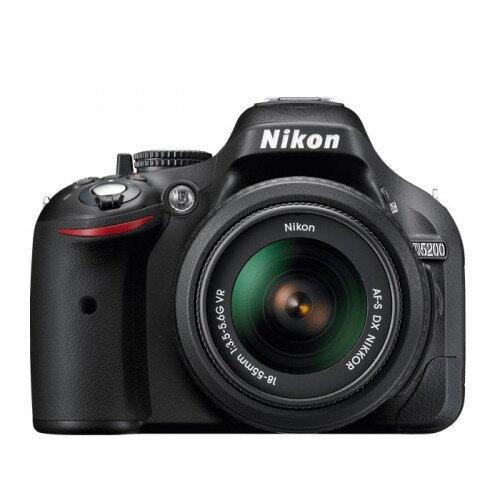 Nikon D5200 Digital SLR Camera - Black - Two Lens Kit