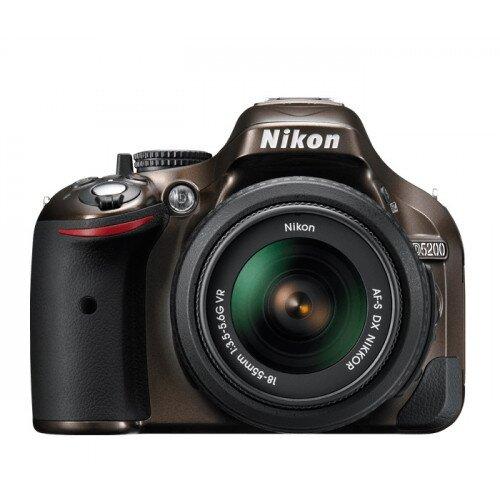 Nikon D5200 Digital SLR Camera - Bronze - 18-55mm VR Lens Kit
