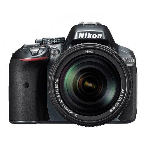 Nikon D5300 Digital SLR Camera - Grey - 18-55mm VR II Lens Kit