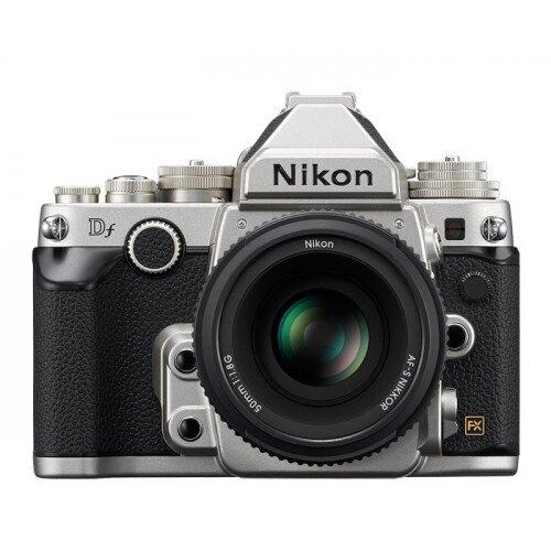 Nikon Df Digital SLR Camera - Silver - Special Edition Lens Kit