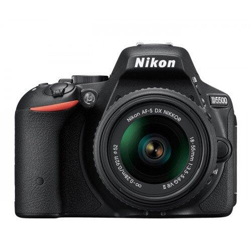 Nikon D5500 Digital SLR Camera - Black - 18-55mm VR II Lens Kit
