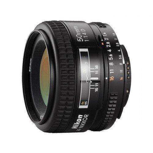 Nikon AF Nikkor 50mm f/1.4D Digital Camera Lens