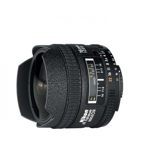 Nikon AF Fisheye-Nikkor 16mm f/2.8D Digital Camera Lens
