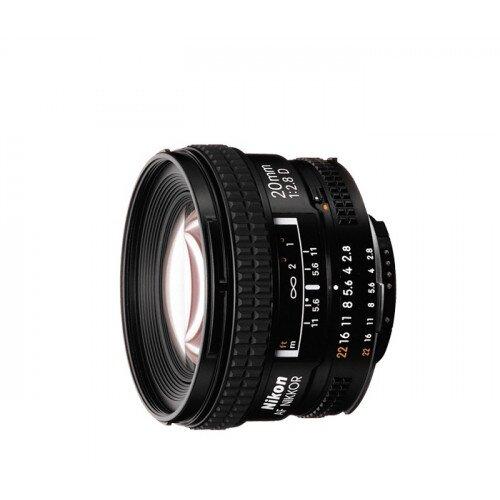 Nikon AF Nikkor 20mm f/2.8D Digital Camera Lens