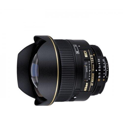 Nikon AF Nikkor 14mm f/2.8D ED Digital Camera Lens