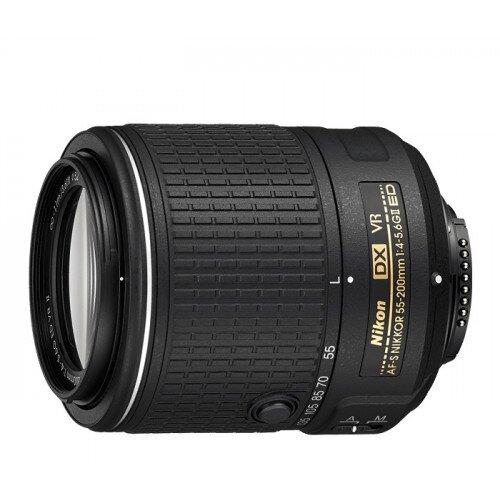 Nikon AF-S DX NIKKOR 55-200mm f/4-5.6G ED VR II Digital Camera Lens