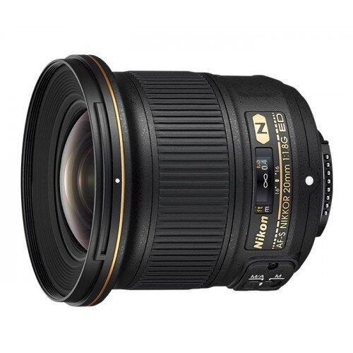 Nikon AF-S NIKKOR 20mm f/1.8G ED Digital Camera Lens