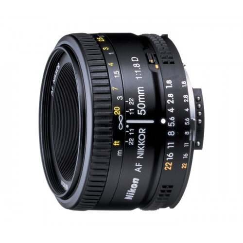 Nikon AF Nikkor 50mm f/1.8D Digital Camera Lens