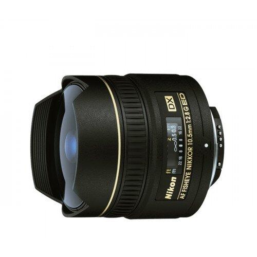 Nikon AF DX Fisheye-Nikkor 10.5mm f/2.8G ED Digital Camera Lens