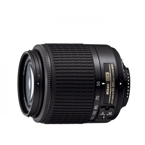 Nikon AF-S DX Zoom-NIKKOR 55-200mm f/4-5.6G ED Digital Camera Lens