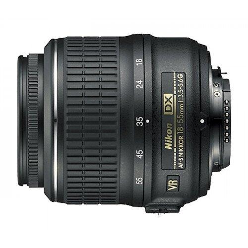 Nikon AF-S DX Zoom-Nikkor ED 18-55mm F3.5-5.6G Digital Camera Lens