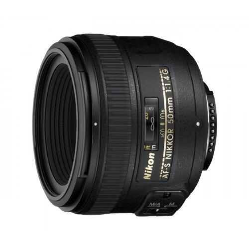 Nikon AF-S NIKKOR 50mm f/1.4G Digital Camera Lens
