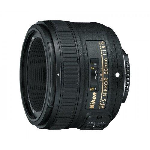 Nikon AF-S NIKKOR 50mm f/1.8G Digital Camera Lens