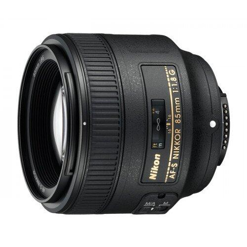 Nikon AF-S NIKKOR 85mm f/1.8G Digital Camera Lens