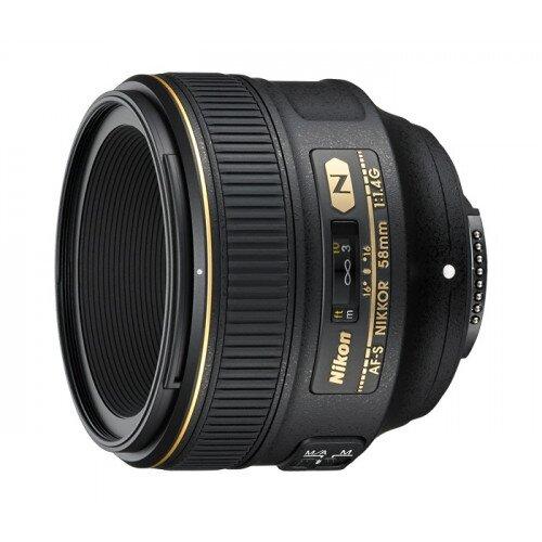 Nikon AF-S NIKKOR 58mm f/1.4G Digital Camera Lens