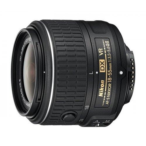Nikon AF-S DX NIKKOR 18-55mm f/3.5-5.6G VR II Digital Camera Lens