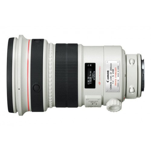 Canon EF 200mm Telephoto Lens - f/2L IS USM