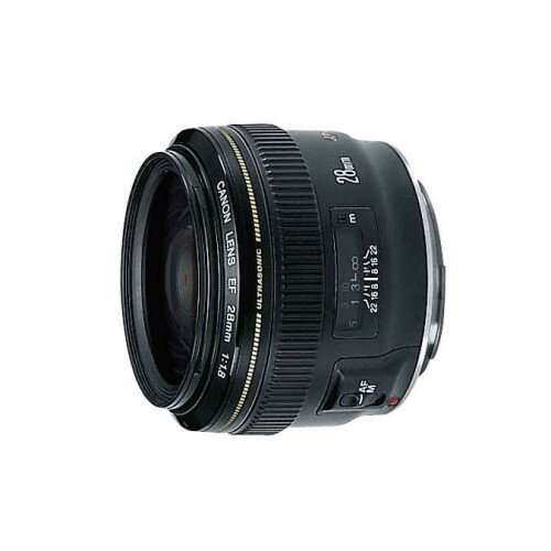 Canon EF 28mm Wide-Angle Lens