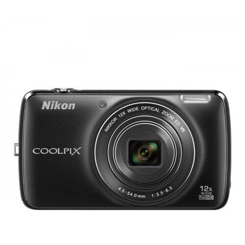 Nikon COOLPIX S810c Compact Digital Camera - Black