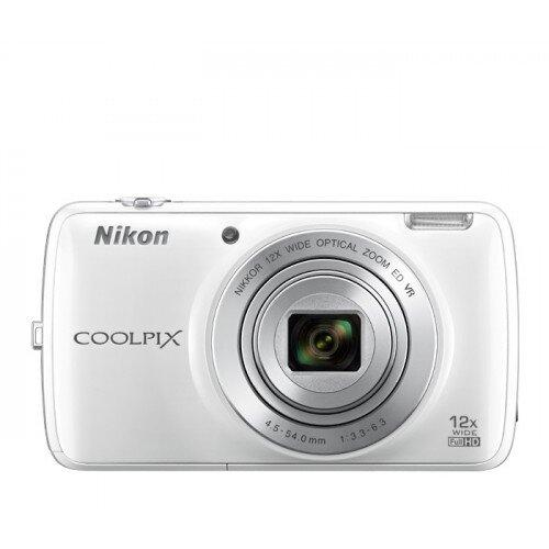 Nikon COOLPIX S810c Compact Digital Camera - White