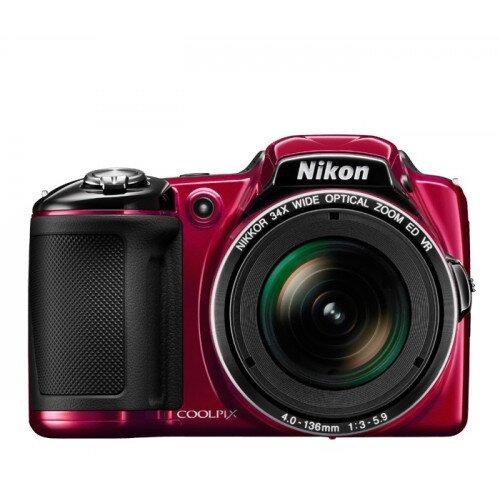 Nikon COOLPIX L830 Compact Digital Camera - Red