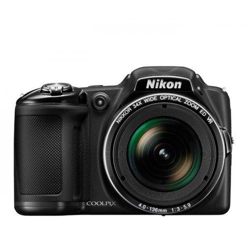 Nikon COOLPIX L830 Compact Digital Camera - Black