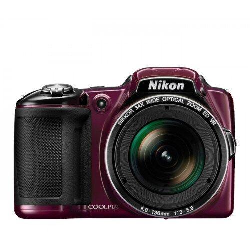 Nikon COOLPIX L830 Compact Digital Camera - Plum