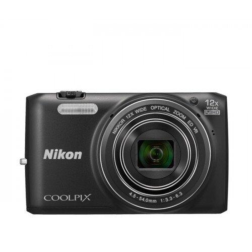 Nikon COOLPIX S6800 Compact Digital Camera - Black