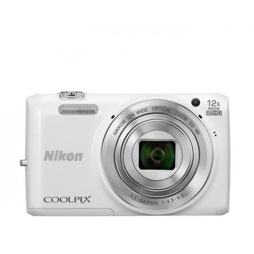 Nikon COOLPIX S6800 Compact Digital Camera - White