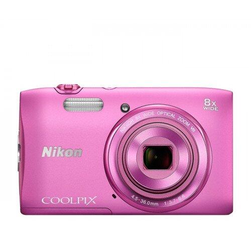 Nikon COOLPIX S3600 Compact Digital Camera - Pink