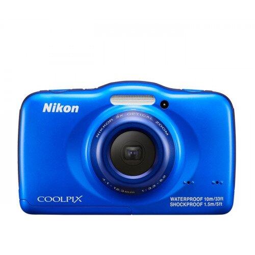 Nikon COOLPIX S32 Compact Digital Camera - Blue