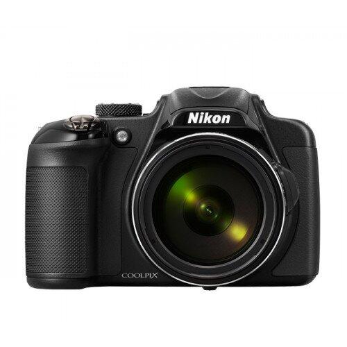 Nikon COOLPIX P600 Compact Digital Camera - Black