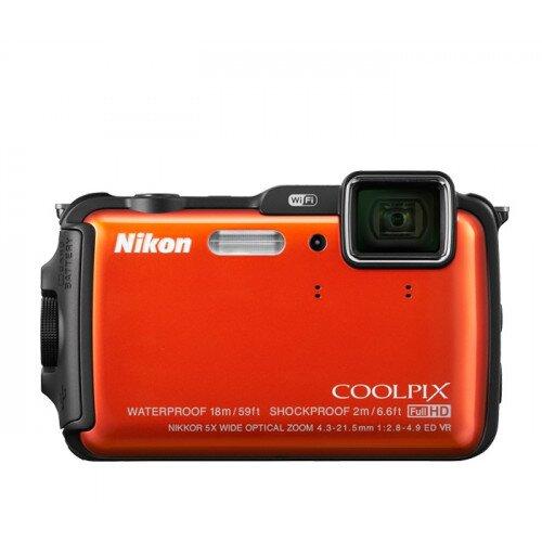 Nikon COOLPIX AW120 Compact Digital Camera - Orange