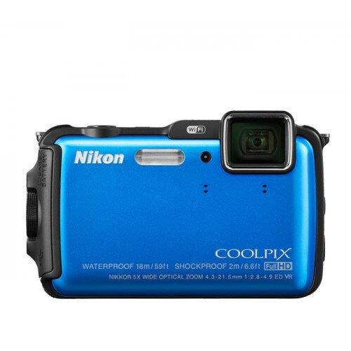 Nikon COOLPIX AW120 Compact Digital Camera - Blue