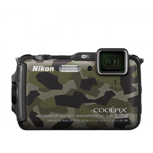 Nikon COOLPIX AW120 Compact Digital Camera - Camouflage