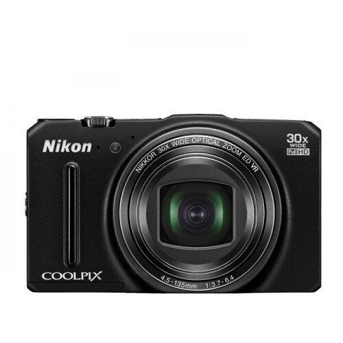 Nikon COOLPIX S9700 Compact Digital Camera - Black